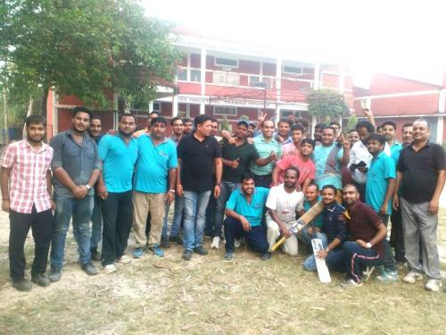 Production Cricket team wins our Inter Sangh Cricket Tournament